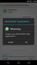 Sony Xperia E4g - Applications - Supprimer une application - Étape 7