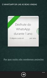 Nokia Lumia 530 - Aplicações - Como configurar o WhatsApp -  10