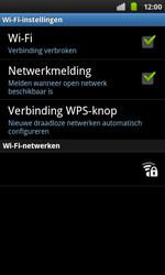 Samsung I9001 Galaxy S Plus - Wifi - handmatig instellen - Stap 7