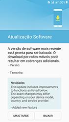 Samsung Galaxy J2 Prime - Funções básicas - Como atualizar o software do seu aparelho - Etapa 7