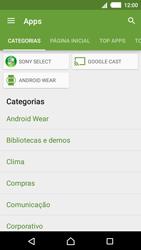 Sony Xperia M4 Aqua - Aplicativos - Como baixar aplicativos - Etapa 6