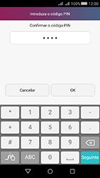 Huawei Y5 II - Segurança - Como ativar o código de bloqueio do ecrã -  9