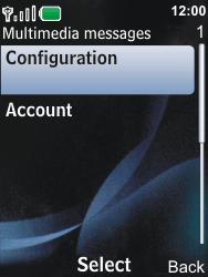 Nokia 6600i slide - MMS - Automatic configuration - Step 10