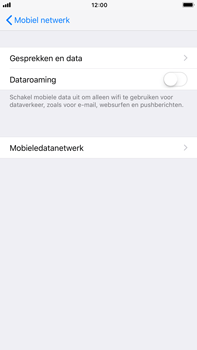 Apple Apple iPhone 6s Plus iOS 11 - Internet - Dataroaming uitschakelen - Stap 6