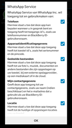 BlackBerry Leap - Applicaties - Account aanmaken - Stap 13