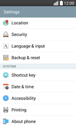 LG H220 Joy - Network - Installing software updates - Step 5