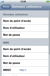 Apple iPhone 3G S - Internet - configuration manuelle - Étape 7
