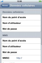 Apple iPhone 3G S - Internet - Configuration manuelle - Étape 6