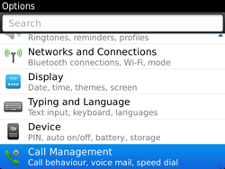 BlackBerry 9900 Bold Touch - Voicemail - Manual configuration - Step 4