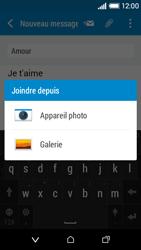 HTC Desire 510 - E-mails - Envoyer un e-mail - Étape 12
