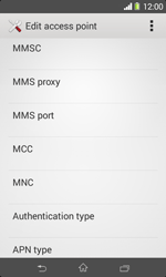 Sony D2005 Xperia E1 - Mms - Manual configuration - Step 12