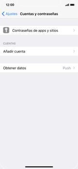 Apple iPhone X - E-mail - Configurar Outlook.com - Paso 4