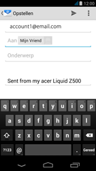 Acer Liquid Z500 - E-mail - e-mail versturen - Stap 6