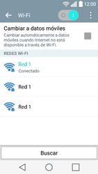 LG Leon - WiFi - Conectarse a una red WiFi - Paso 8
