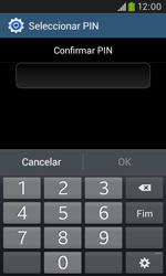 Samsung Galaxy Trend Plus - Segurança - Como ativar o código de bloqueio do ecrã -  10