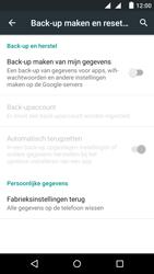 Fairphone Fairphone 2 - Instellingen aanpassen - Fabrieksinstellingen terugzetten - Stap 6
