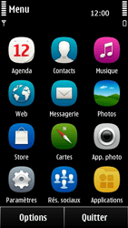Nokia 500 - E-mail - envoyer un e-mail - Étape 2