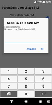 Sony Xperia XZ2 - Sécuriser votre mobile - Personnaliser le code PIN de votre carte SIM - Étape 8