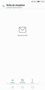 Huawei P Smart - E-mail - Configuration manuelle - Étape 5