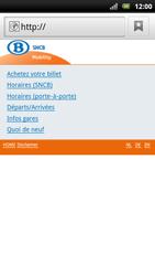 Sony Ericsson Xperia Arc S - Internet - navigation sur Internet - Étape 11