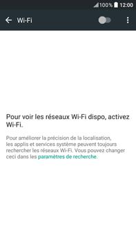 HTC HTC Desire 825 - Wifi - configuration manuelle - Étape 4