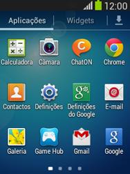 Samsung Galaxy Pocket Neo - Segurança - Como ativar o código de bloqueio do ecrã -  3