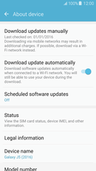 Samsung Galaxy J5 (2016) (J510) - Device - Software update - Step 6