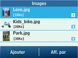 Samsung C3500 Chat 350 - MMS - envoi d'images - Étape 11