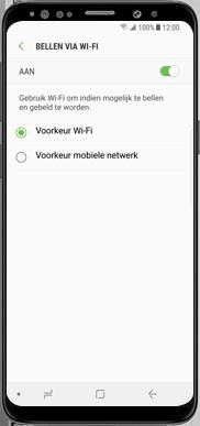 Samsung Galaxy J7 (2017) - Bellen - Bellen via wifi (VoWifi) - Stap 9
