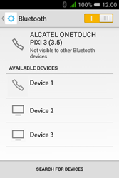 Alcatel Pixi 3 - 3.5 - Bluetooth - Pair with another device - Step 6