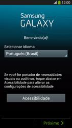Samsung I9500 Galaxy S IV - Primeiros passos - Como ativar seu aparelho - Etapa 2