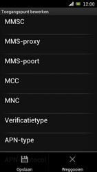Sony Ericsson Xperia Neo met OS 4 ICS - Internet - Handmatig instellen - Stap 14