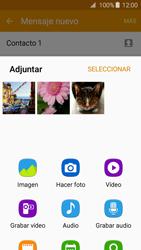Samsung Galaxy A3 (2016) - Mensajería - Escribir y enviar un mensaje multimedia - Paso 17