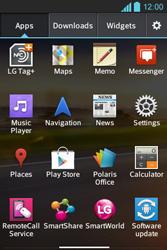 LG E610 Optimus L5 - Internet - Enable or disable - Step 3