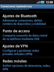 Samsung S5570 Galaxy Mini - Bluetooth - Conectar dispositivos a través de Bluetooth - Paso 5