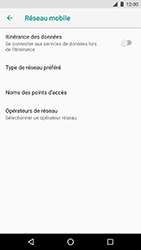 LG Nexus 5X - Android Oreo - Internet - Désactiver du roaming de données - Étape 7