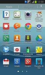Samsung GT-I8552B Galaxy Win Duos - Rede móvel - Como ativar e desativar o modo avião no seu aparelho - Etapa 3