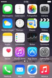 Apple iPhone 4S iOS 8 - Chamadas - Como bloquear chamadas de um número -  2
