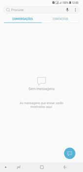 Samsung Galaxy A6 Plus DualSim - SMS - Como configurar o centro de mensagens -  4