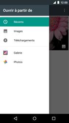 Motorola Moto E (1st Gen) (Lollipop) - Contact, Appels, SMS/MMS - Envoyer un MMS - Étape 14