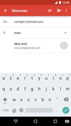 Motorola Moto E (1st Gen) (Lollipop) - E-mails - Envoyer un e-mail - Étape 6