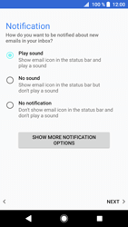 Sony Xperia XZ1 - Email - Manual configuration - Step 21