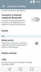 LG Leon - Red - Seleccionar el tipo de red - Paso 5