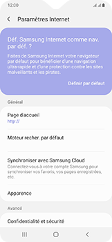 Samsung Galaxy A20e - Internet - configuration manuelle - Étape 27