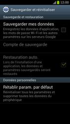 Samsung I9300 Galaxy S III - Device maintenance - Retour aux réglages usine - Étape 6