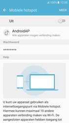 Samsung Galaxy S6 - Android M - WiFi - Mobiele hotspot instellen - Stap 6