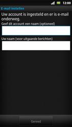 Sony MT27i Xperia Sola - E-mail - Handmatig instellen - Stap 15