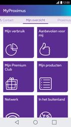 LG X Screen - Applicaties - MyProximus - Stap 16
