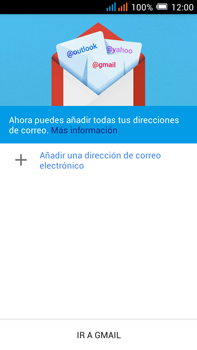 Alcatel Pop C9 - E-mail - Configurar Gmail - Paso 5