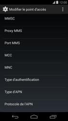 LG D821 Google Nexus 5 - Internet - configuration manuelle - Étape 12